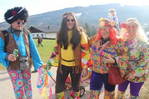 Fasching 2016 - Hippies in St. Konrad
